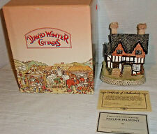 David Winter Cottages GUNSMITHS COTTAGE 1987 In Box With Paperwork