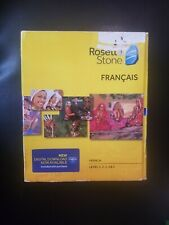 Rosetta Stone V4 TOTALe: French Level 1-5 Set for PC, Mac Free USA Shipping New