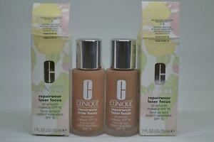 Clinique Repairwear Laser Focus All-Smouth Makeup SPF 15 1oz./30ml~choose shade~