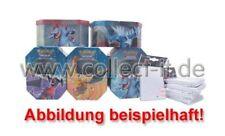 5 leere Pokemon Tin Boxen und 5 Päckchen Ultra Pro Deck Protector Sleeves (weiß)