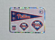 90s Philadelphia Phillies Prism Sticker vintage vending decal MLB baseball team