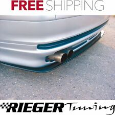 Rieger Carbon Fits Bmw Typ E46 Sedan (99-01) Rear Skirt Splitter 50122