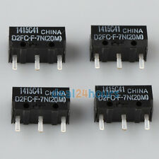 4 x OMRON D2FC-F-7N(20M) Micro Switches Microswitch - RAZER Logitech G600 Mouse