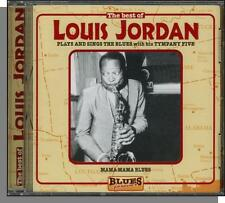 Louis Jordan -- Plays and Sings The Blues - New 18 Song European CD! (CD 68017S)