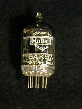Mullard 6AK5W Valve. New Old Stock. Tested Good On Avo CT160.Vintage
