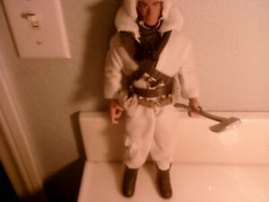 In time Products Action Figure GIJoe Artic Snow