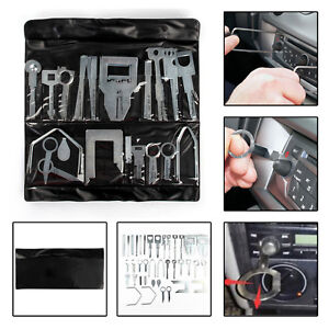 38x Stereo Removal Keys Tool Set Release Extraction Car CD Radio Audio Head Unit
