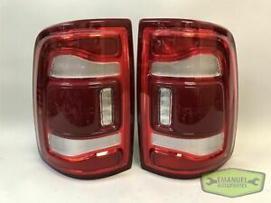 Dodge RAM 2500 3500 2019 2020 2021 PAIR LED Tail Lights w/Blind Spot OEM *NEW*