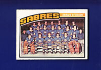 Buffalo Sabres Team CL (Unmarked) 1976-77 O-PEE-CHEE OPC Hockey #134 (EXMT)