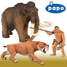 Papo mamut (55017) + urzeitmensch (39910) + tigre dientes de sable (55022)