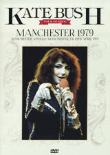 KATE BUSH, LIVE AT MANCHESTER APOLLO 10TH APRIL 1979, RARE JAPAN DVD (NEW)