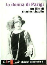 Dvd La Donna di Parigi - ed. slipcase 2 dischi Chaplin Collection 1923 Nuovo