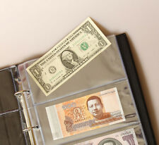 Brand New Paper Money Banknotes Collection Protection Album Book High Quality