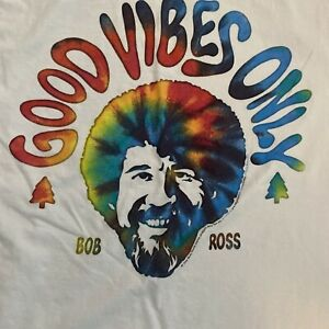 Bob Ross Good Vibes Only Medium Shirt