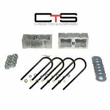 """Ranger Lift Kit Rear 2"""" Aluminum Blocks & U Bolts """"I"""" 1998-2011 Ford 4x2 2WD"""