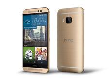 HTC ONE M9 SLIM POSH LOOK SMART PHONE SIM FREE UNLOCKED REFURBISHED GOLD COLOUR