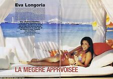COUPURE DE PRESSE CLIPPING 2006 Eva Longoria   (4 pages)
