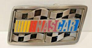 Vintage NASCAR Belt Buckle - American Legends Foundry Free Shipping