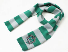 Costume Harry Potter Slytherin House Cosplay Soft Warm Wool Knit Scarf Wrap Gift