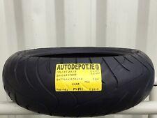 180/55ZR17 BRIDGESTONE BT020R 73W Partworn Motorcycle Rear tyre (MB811)