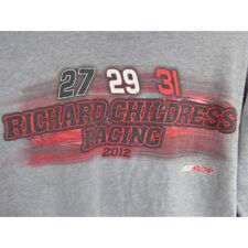NASCAR Richard Childress Racing 2012 Long Sleeve gray tee shirt medium