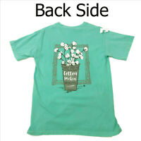 NWT Jane Marie Turquoise Tee Shirt Wait A Cotton Pickin Minute