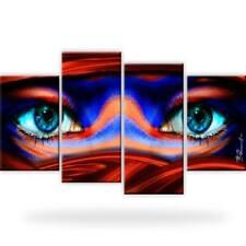 Tuareg Orient Augen Abstrakt Touareg Bild Bilder Kunstdruck 4 Teilig