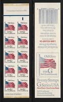 1994 G Rate BK221 (32c) Sc 2883a panes (2) MNH plate number 1111