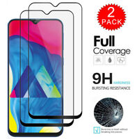 For Samsung Galaxy M10 M20 M30 M40 FULL COVER 9D Tempered Glass Screen Protector