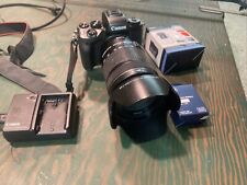 Canon EOS M5 Mirrorless 24.2MP Digital Camera & Canon EFS 18mm-135mm Plus Extras