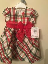 Bonnie Baby - Christmas  Dress with Bloomers - Size 18m - NWT