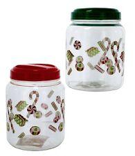 Jars Candy Jars Christmas Candy Jars Holiday Table Decoration Jar