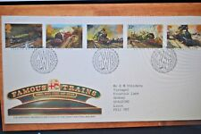 January 1985: First Day Cover; Famous Trains; Great Postmark