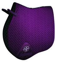 Professional's Choice VenTech Jump English Saddle Pad EP510 Purple