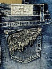 Miss Me Signature Boot denim women jeans size 30 NEW