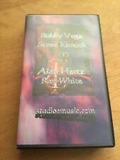 Bobby Vega, Steve Kimock, Alan Hertz, Ray White, KVHW, 1/24/98, VHS Tape, Rare!