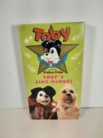 Toby Terrier & His Video Pals Toby's Sing Along VHS