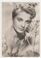 SHIRLEY JONES Actress Movie Vintage Original Old Photo Postcard Color
