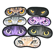 Lovely Cat Eye Patch Three-Dimensional Travel Sleep Mask Blinder Random Delivery