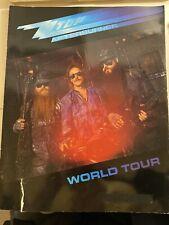 Z Z Top Afterburner 1986 World Tour Program