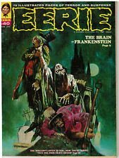 EERIE #40 JUNE 1972 and CREEPY #45 MAY 1972 (TWO BOOKS). EXPIRES DECEMBER 30th