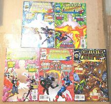 MARVEL SUPER HERO CONTEST OF CHAMPIONS II 1 2 3 4 5 CLAREMONT DEADPOOL COMICS