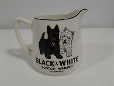 Black & White Scotch Whisky Jug - Excellent Condition