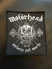 Motorhead ' Victoria Aut Morte 1975-2015 ' Woven Patch