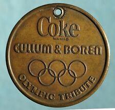 Medal Coke, Cullum & Boren Olympic Tribute, medal Southern Methodist University