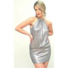 BARIANO - Halter Sequin Mini GOLD *CLEARANCE*