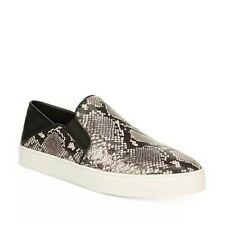 New Vince. Slip On Garvey Shoe Sneaker Snake Print Leather Women's Size 10 $250
