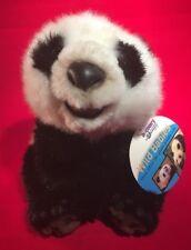 """SHEN-SHEN Giant Panda Discovery Channel Wild Babies Plush MWMT 8"""""""