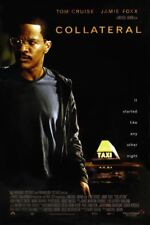 COLLATERAL MOVIE POSTER 2 Sided ORIGINAL JAMIE FOXX 27x40 MICHAEL MANN