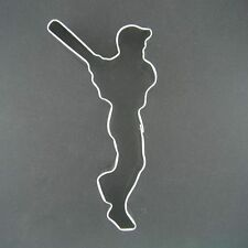 "BASEBALL PLAYER 4.75"" METAL COOKIE CUTTER FONDANT SPORTS BIRTHDAY PARTY FAVOR"